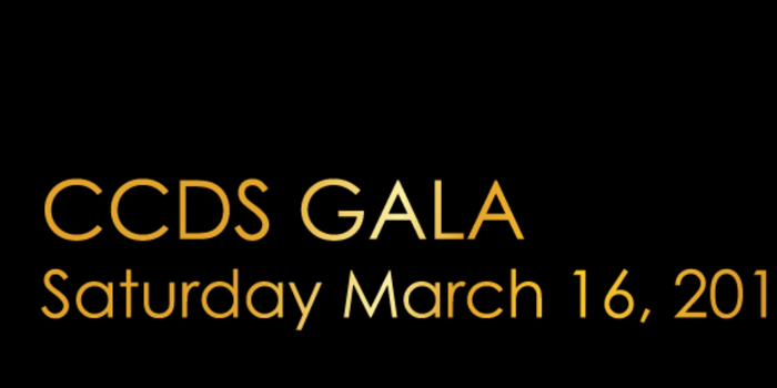 CCDS Speakeasy Gala and Auction!