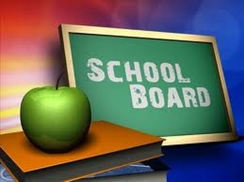 School Board Meeting in Clare's Cottage at 7:00 p.m.