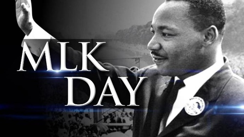 Martin Luther King Jr. Day, NO SCHOOL