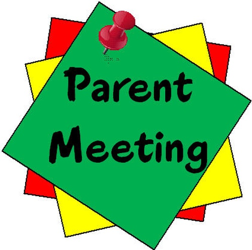 Parent Room Rep. Meeting